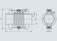 Компенсатор угловой четырехлинзовый ОСТ 34-10-576-93